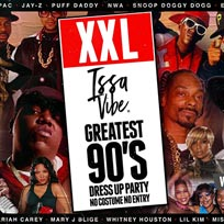 XXL 90's Costume Party at Village Underground on Friday 16th August 2019