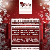 Itch FM Christmas Party at MAP Studio Cafe on Saturday 1st December 2018