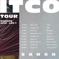 Sango at Electric Brixton on Friday 23rd March 2018