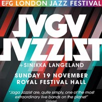 Jaga Jazzist at Royal Festival Hall on Sunday 19th November 2017
