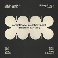 Jake Holloway & JP at Brilliant Corners on Friday 18th January 2019