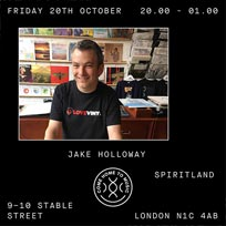 Jake Holloway at Spiritland on Friday 20th October 2017