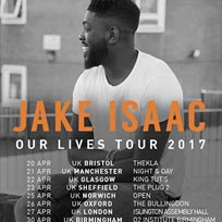 Jake Isaac at Islington Assembly Hall on Thursday 27th April 2017