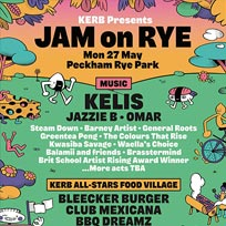 Jam on Rye at Peckham Rye Park on Monday 27th May 2019
