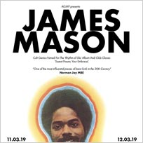 James Mason at Islington Assembly Hall on Monday 11th March 2019