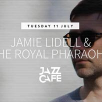 Jamie Lidell & The Royal Pharaohs at Jazz Cafe on Tuesday 11th July 2017