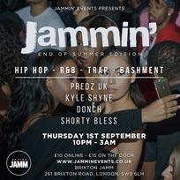 Jammin' at Brixton Jamm on Thursday 1st September 2016