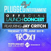 Jay Critch at The Troxy on Tuesday 11th June 2019