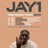 JAY1 at Electric Ballroom on Tuesday 24th September 2019