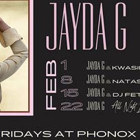 Jayda G: 4 Fridays at Phonox at Phonox on Friday 1st February 2019