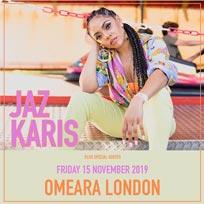 Jaz Karis at Omeara on Friday 15th November 2019