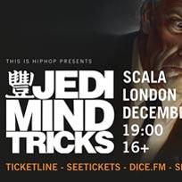 Jedi Mind Tricks at Scala on Sunday 2nd December 2018