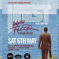 Jehst at Hoxton Square Bar & Kitchen on Saturday 6th May 2017