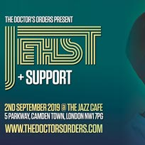 Jehst at Jazz Cafe on Monday 2nd September 2019