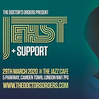 Jehst at Jazz Cafe on Sunday 29th March 2020