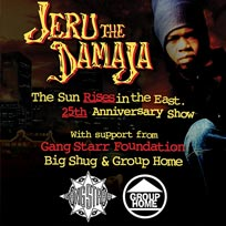Jeru The Damaja at The Garage on Sunday 9th June 2019