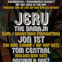 Jeru The Damaja at Soundcrash on Saturday 25th November 2017