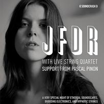 JFDR at Oslo Hackney on Saturday 22nd September 2018
