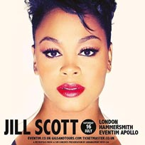 Jill Scott at Hammersmith Apollo on Saturday 16th July 2016