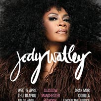Jody Watley at Under the Bridge on Friday 19th April 2019