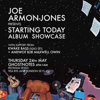 Joe Armon-Jones at Ghost Notes on Thursday 24th May 2018