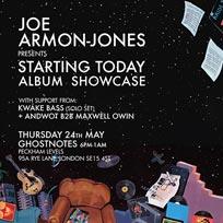 Joe Armon-Jones at Ghost Notes on Thursday 24th May 2018