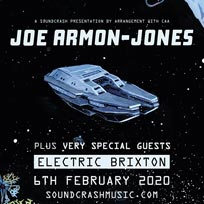 Joe Armon-Jones at Electric Brixton on Thursday 6th February 2020