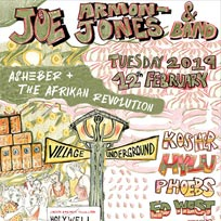 Joe Armon Jones at Village Underground on Tuesday 12th February 2019