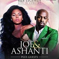 Joe & Ashanti at Hammersmith Apollo on Sunday 26th February 2017