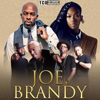 Joe, Brandy & Dru Hill at Hammersmith Apollo on Friday 27th September 2019