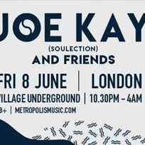 Joe Kay at Village Underground on Friday 8th June 2018