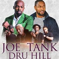 Joe, Tank and Dru Hill at Indigo2 on Monday 30th September 2019
