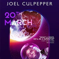 Joel Culpepper at EartH on Wednesday 20th March 2019