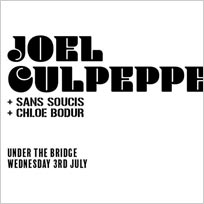 Joel Culpepper at Under the Bridge on Wednesday 3rd July 2019