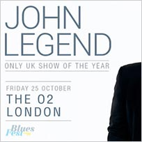 John Legend at The o2 on Friday 25th October 2019
