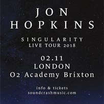 Jon Hopkins at Brixton Academy on Friday 2nd November 2018