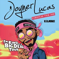 Joyner Lucas at The Forum on Saturday 8th September 2018