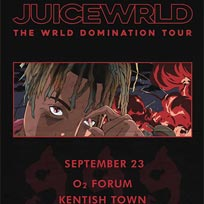 Juice WRLD at The Forum on Sunday 23rd September 2018