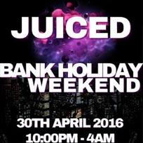 Juiced at Mooro's on Saturday 30th April 2016
