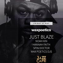 Just Blaze at Jazz Cafe on Friday 27th May 2016