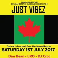 JUST VIBEZ at Dogstar on Saturday 1st July 2017