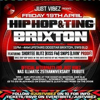 Hip Hop and Ting at Dogstar on Friday 19th April 2019