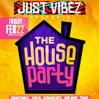 Just Vibez House Party at Ace Hotel on Friday 22nd February 2019