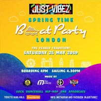 Spring Time Boat Party at TBA on Saturday 25th May 2019