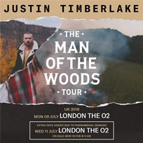 Justin Timberlake at The o2 on Wednesday 11th July 2018