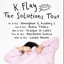 K Flay at Heaven on Wednesday 23rd October 2019