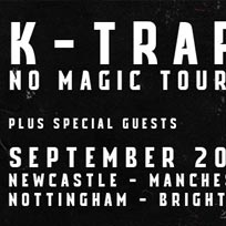 K-Trap at Oval Space on Thursday 12th September 2019