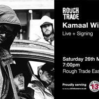 Kamaal Williams - Live + Signing at Rough Trade East on Saturday 26th May 2018