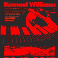 Kamaal Williams at Electric Brixton on Thursday 6th December 2018