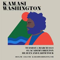 Kamasi Washington at Brixton Academy on Tuesday 5th March 2019